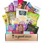 Healthy VEGAN Snacks Care Package: Plant-based, Non-GMO, Vegan Jerky, Snack Bars, Protein Cookies, Crispy Fruit, Nuts, Healthy Gift Basket Alternative, Snack Variety Pack, College Student Care Package